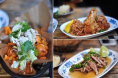 Electric Mud | Buffalo Cauliflower, Fried Chicken, Grilled Pork Neck