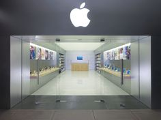 Architecture: Modern And Cozy Apple Retail Store Design, Modern Apple Retail Store Design With Aluminium Nuance