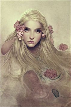 OURS  Fine Art Prints by Charlie Bowater  http://www.eyesonwalls.com