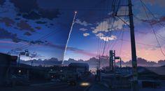 45:25:31 鹿児島相互信用金庫中種子支店 第2話、ロケット打ち上げのシーンで、中種子市街地越しにロケットの軌跡が描かれるカット。 ストリートビューにて閲覧可。