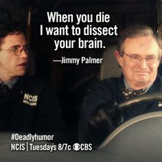 NCIS....Oh, Jimmy.