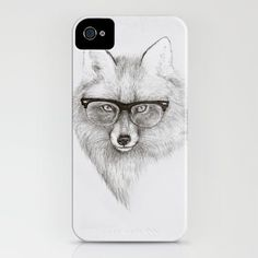 Fox Specs for iPhone 6 Case
