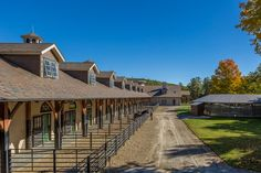 beautiful barn and outdoor pens