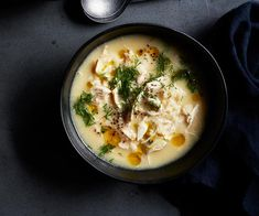 Every Greek understands the importance of avgolemono. It's one thing I'll eat for the rest of my life. Chef Recipes, Lemon Recipes, Greek Recipes, Soup Recipes, Cooking Recipes, Chicken Recipes, Avgolemono Recipe, Traditional Greek Salad, Greek Chicken