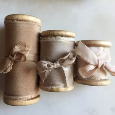 Wonderful Ribbon Embroidery Flowers by Hand Ideas. Enchanting Ribbon Embroidery Flowers by Hand Ideas. Silk Ribbon Embroidery, Fabric Ribbon, Ribbon Bows, Ribbons, Textiles, Little Mercerie, Sewing Notions, Wabi Sabi, Vintage Sewing