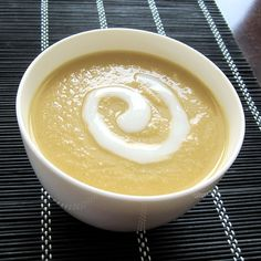 Dairy-Free Cream of Celery Root Soup Recipe - Grand Prize Winning Recipe! (Vegan, Gluten-Free)