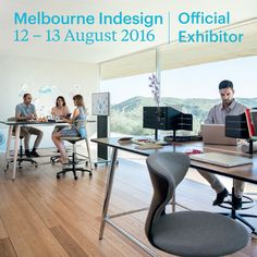 Mastermind and Turnaround from Sedus, the perfect combination. Visit us on the day at Melbourne Indesign to see this and much more.