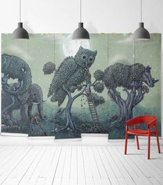 Imaginative Educational Children S Wallpaper Design