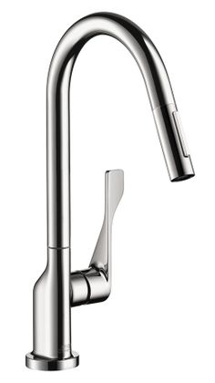 Axor Citterio 2-Spray HighArc Kitchen Faucet, Pull-Down  $678 list