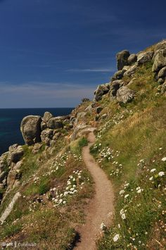 Footpath to Nanjizal, Cornwall