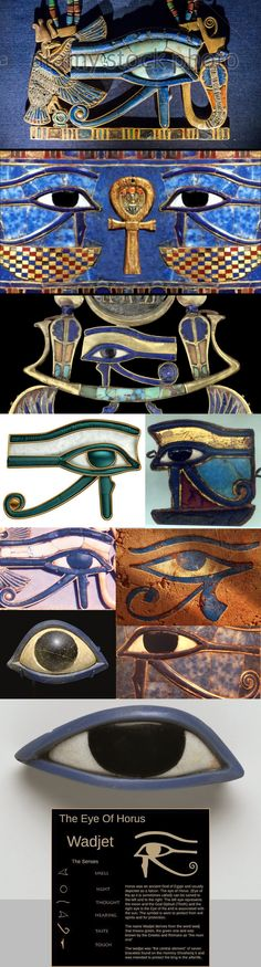 the eye of horus ... Ra