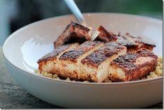 Crispy Blackened Tofu.