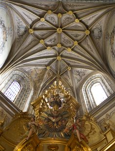 Chapel Ceiling - Segovia Cathedral - Segovia, Spain