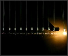 Light Bulb Newtons Cradle