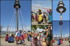 Ren Faire May Pole!