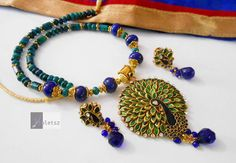 15.0% discount on all Necklaces & Jewellery Sets from Violetsz. Max discount of Rs 250. Complete Collection Available at: http://www.indiebazaar.com/shop/violetsz/jewellery-sets?sort=mr