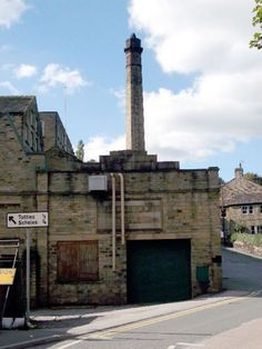 Moorbrook Mill, New Mill, Source: Kirklees Image Archive New Mills, Huddersfield Town, Industrial Architecture, Image Archive, Statue Of Liberty, Shops, Urban, Black And White, Travel