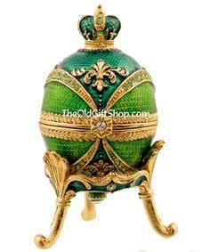 Royal Green Faberge Egg