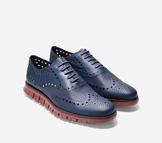 Cool new men's shoes from Cole Haan. #ZeroGrand Blazer Blue