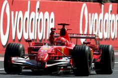 Monza 2006 - Schumacher e la sua Ferrari