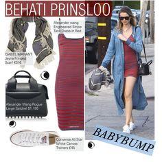Behati Prinsloo : Baby Bump Style