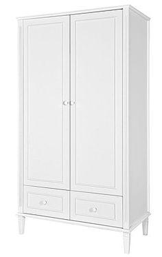 Novelies Bianka k.biały szafa 2 - drzwiowa / KURIER GRATIS Armoire, Tall Cabinet Storage, Art Deco, Room, Furniture, Home Decor, Clothes Stand, Bedroom, Homemade Home Decor