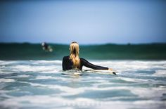 Girl in the surf at bondi beach - Cool Pic