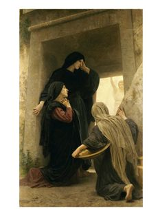 The Three Marys at the Tomb  by William Adolphe Bouguereau