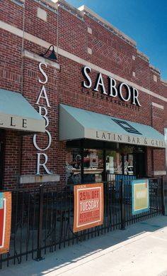 Sabor Latin Bar & Grille offers premier cuisine influenced by South America. Located in the heart of Oldtown Square, Wichita KS.