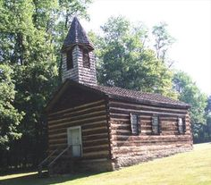 Image detail for -Old Log Church, Cooper Settlement, Pennsylvania - Country Churches ...