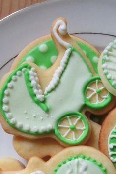 zielone ciastka dla dzieci