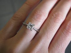 Traditional Classic 14KT White Gold 1.00ct SI1/H by OaksBoutique, $4999.00