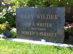 :Billy Wilders grave