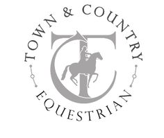equestrian logo Fit the words Merrington Wwarmbloods Stable in the circle around the logo.