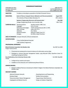 Sample Resume Multiple Positions