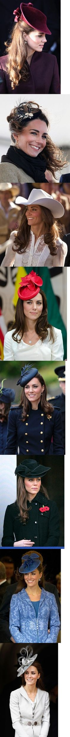 Which of Duchess Kate Middleton's hats do you like?