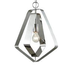 l // Lighting House™ L And Light, South Australia, Pentagon, Pendant Lights, Ceiling Lights, Lighting, Modern, Silver, Hanging Lights