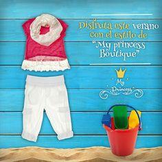 Disfruta el verano, como una princesa !!  Ahora ropa para todos los días, en My Princess Boutique  www.myprincess.cl