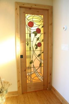 Custom Stained Glass by The Red Sutdio   The custom stained …   Flickr #StainedGlasses