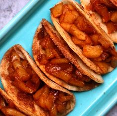 Super Easy Baked Apple Pie Tacos – delicious cinnamon sugary apple filling in a crispy and sweet taco, drizzled with caramel sauce, and then topped with whipped cream! It's the perfect way to serve apple pie to a crowd! Quick and easy recipe! Mexican Food Recipes, Sweet Recipes, Ethnic Recipes, Baking Recipes, Apple Dessert Recipes, Dessert Food, Apple Deserts Easy, Easy Recipes For Desserts, Desserts With Apples