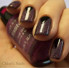 scotch tape tricks for chic manicured nails....smart!