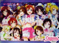 Love Live! ラブライブ! Póster Tamaño: 57 x 42cm Stock: 2  Precio: $1.000