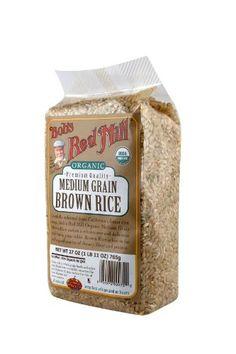 Bob's Red Mill Organic Rice Medium Grain Brown, « Lolly Mahoney