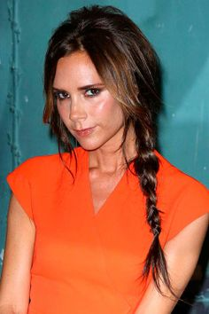 Gorgeous Bedhead Hairstyle Ideas Victoria Beckham's Bedhead Hairstyle