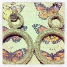 #orecchini#crochet#cammello