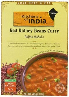 10-oz Kitchens Of India Ready To Eat Rajma Masala Red Kidney Bean Currry (Pack of 6) - $6.34 w/S&S (As Low A... #LavaHot http://www.lavahotdeals.com/us/cheap/10-oz-kitchens-india-ready-eat-rajma-masala/223669?utm_source=pinterest&utm_medium=rss&utm_campaign=at_lavahotdealsus