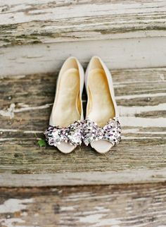 Great wedding day flats, instead of heels
