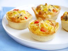 Mexicaanse mini quiches – KIDS