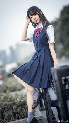 Uniform JK - Faces - Women in Uniform School Girl Dress, School Girl Japan, School Dresses, Japan Girl, Girls Dresses, School Uniform Outfits, Cute School Uniforms, Girls Uniforms, Cute Asian Girls