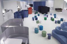 Small modular office partition by Ronan & Erwan Bouroullec WORKBAYS vitra USA